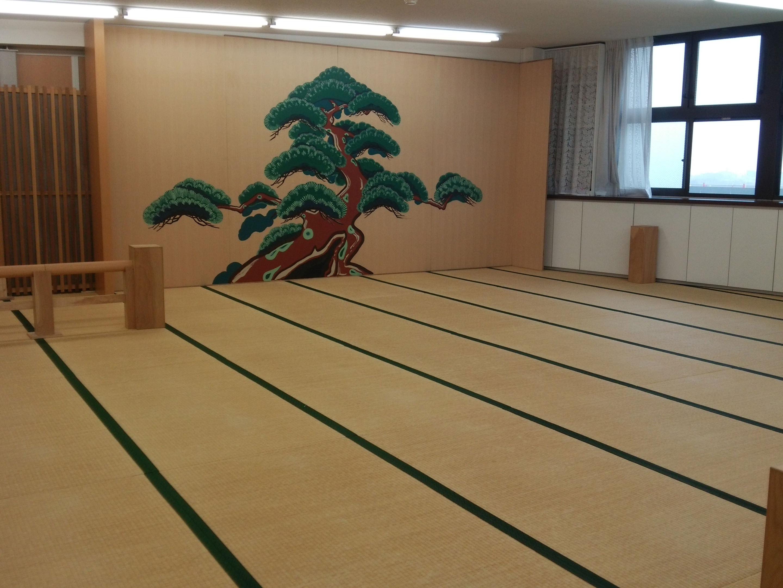 神戸木工センターの能舞台