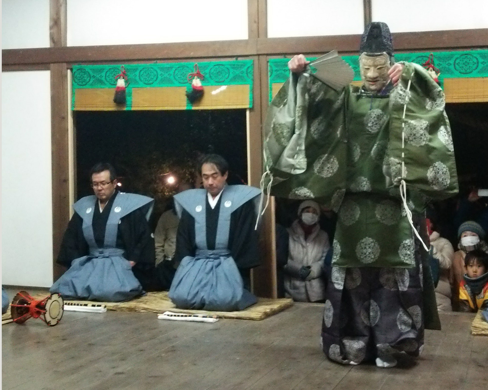 車大歳神社の翁舞・翁大夫の舞