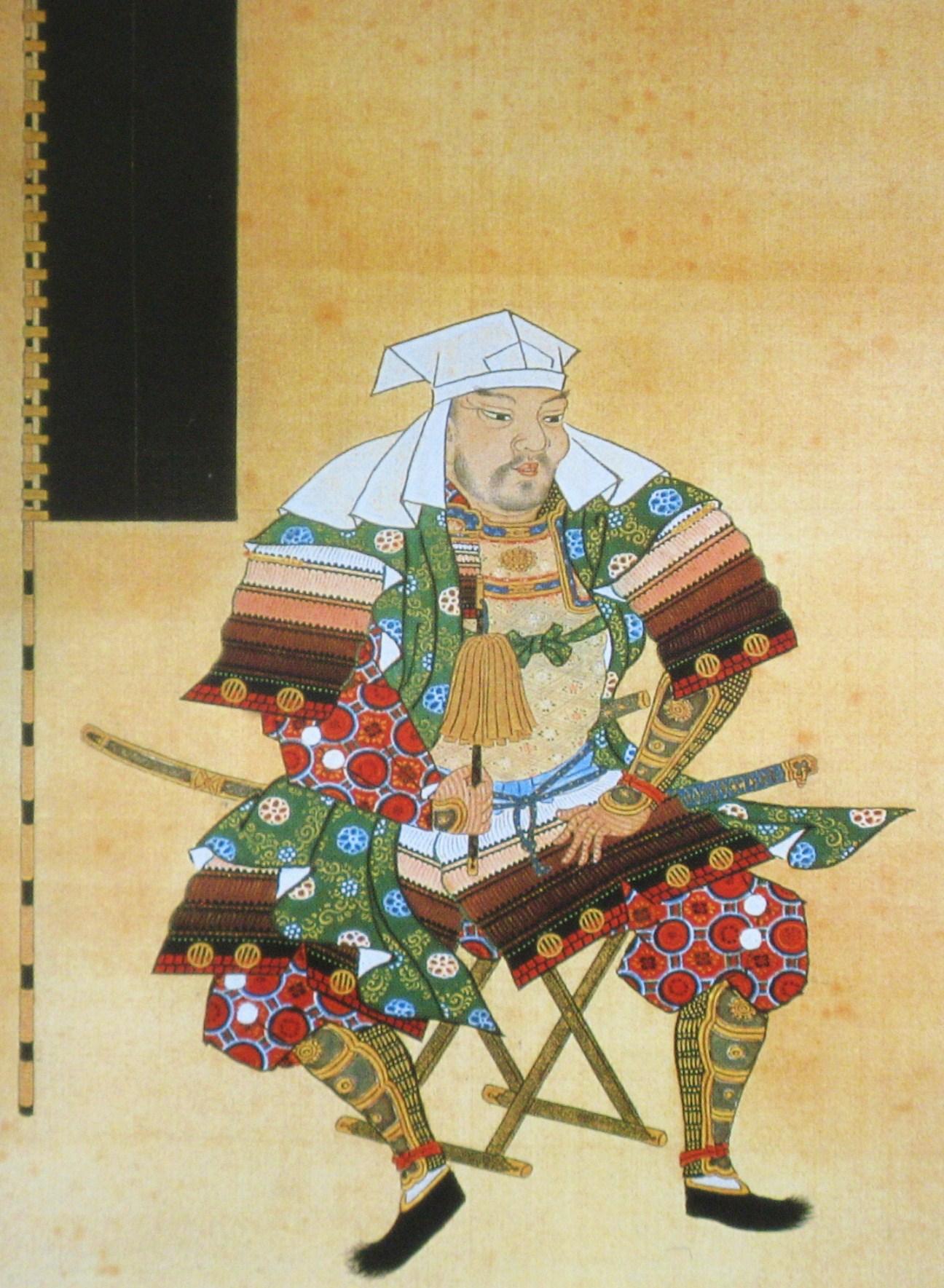 長谷川養辰「伊達輝宗像」(仙台市博物館蔵)