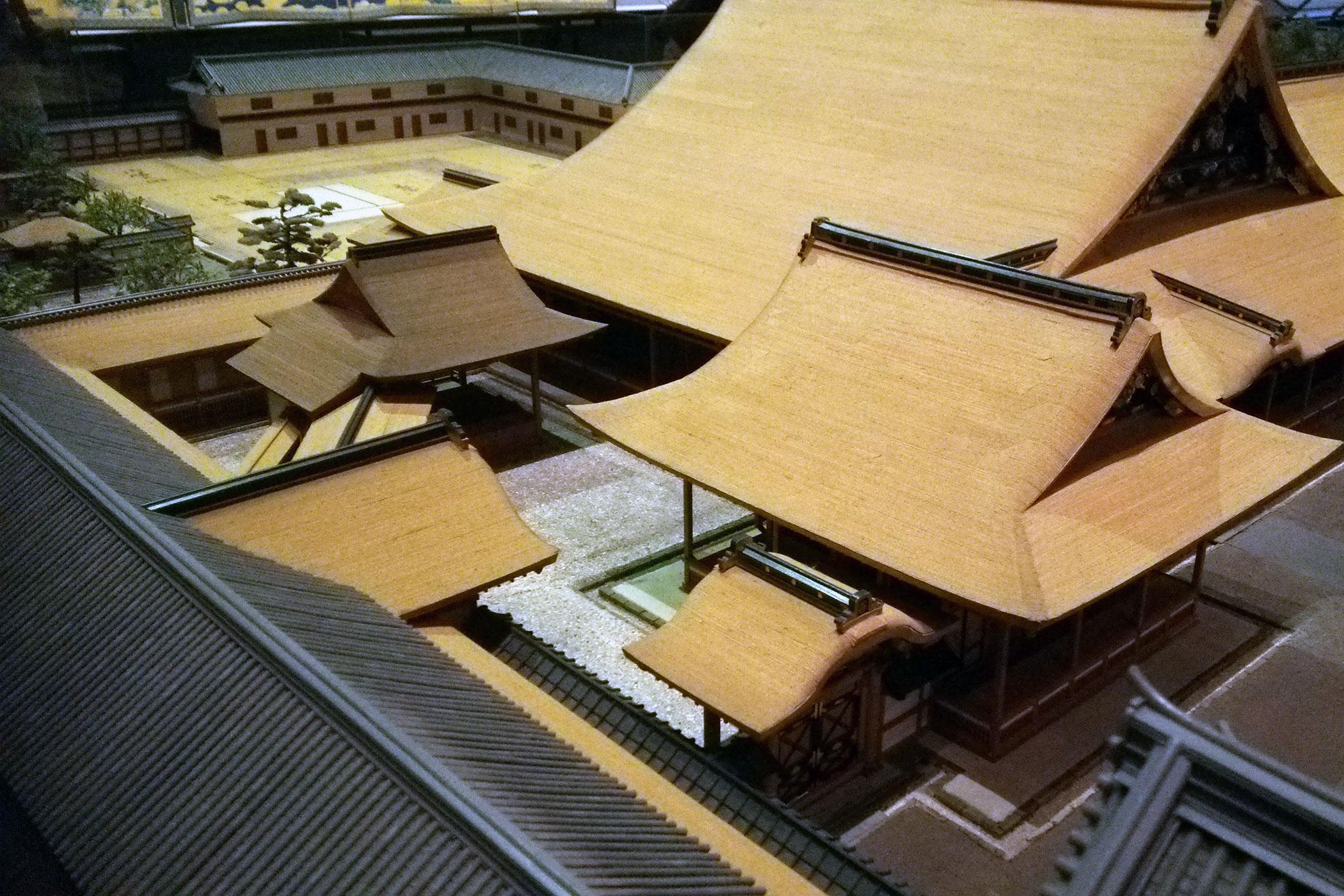 越前福井藩邸(藩主・松平忠昌)再現模型