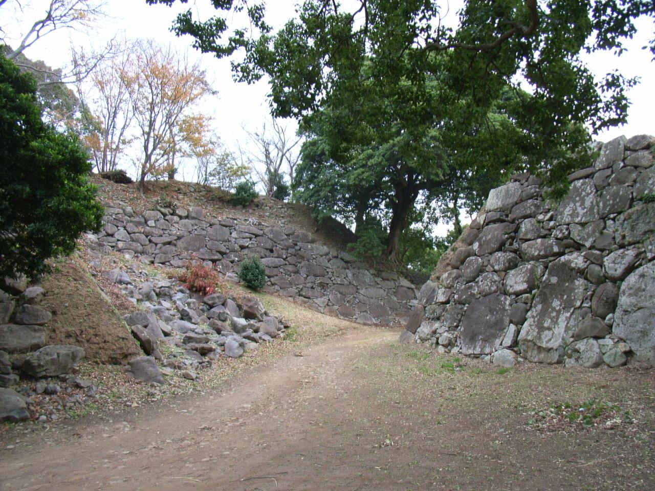 名護屋城三の丸石垣